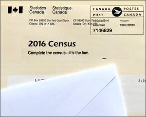 Census envelope