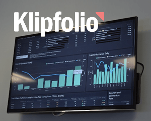 Klipfolio Dashboard Screen