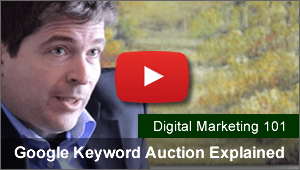 Google Adwords keyword auctions explained