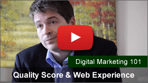 Why Quality Score and Web Experience is Important for Paid Search