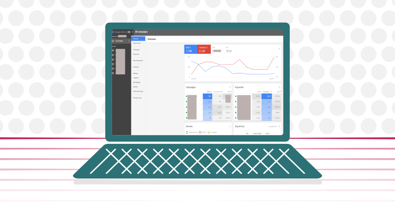 New Google AdWords UI