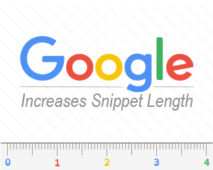 Google Increases Snippet Length