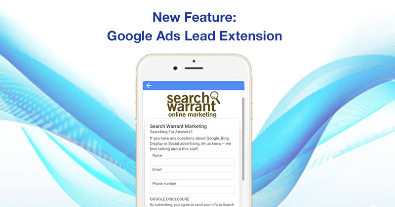 Google Tests New Google Ads Lead Extension