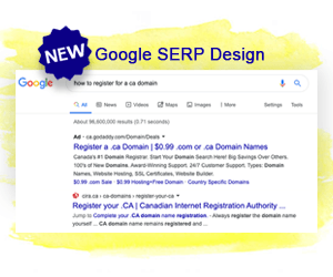 Google SERP Gets a New Look and Feel