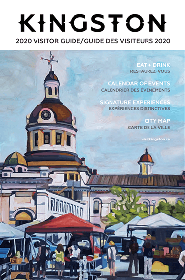 cover of the Kingston 2020 visitor guide