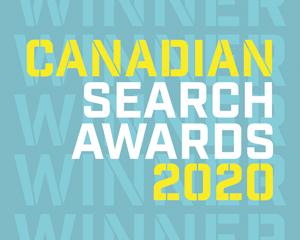 Canadian Search Awards 2020 Logo