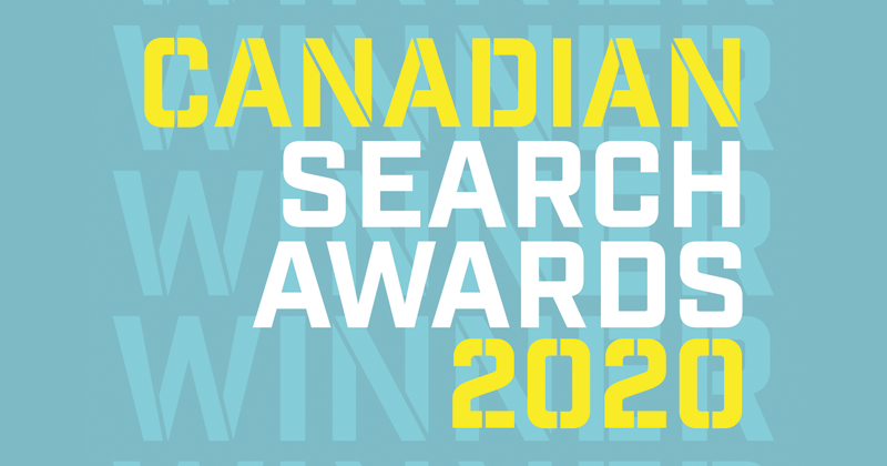 Canadian Search Awards 2020 Logo