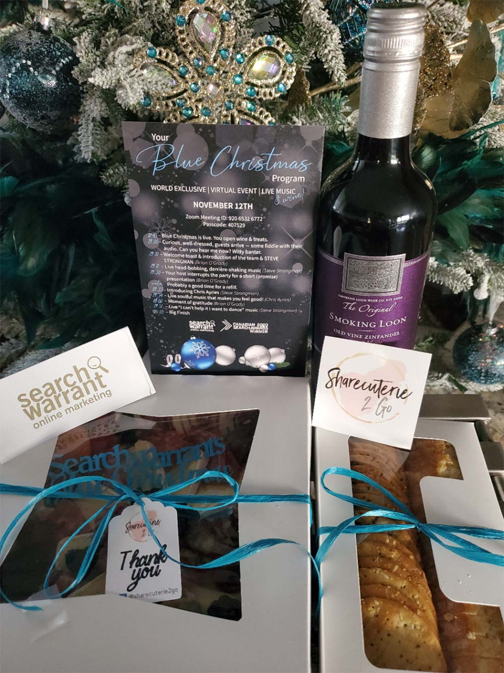 holiday team gift package