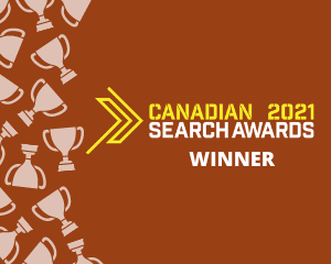 Canadian Search Awards 2021